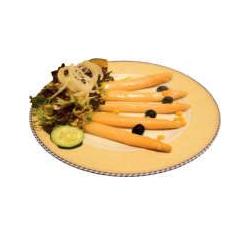 Espàrrecs amb maionesa