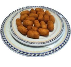 Mini croquetes de pernil