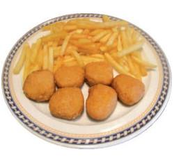 Nuggets con patatas
