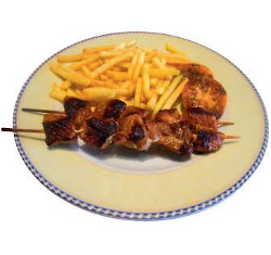 Brochettes garnies