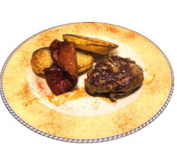 Filet avec garniture